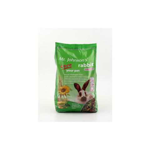 Mr Johnsons Supreme Rabbit Mix Food 15kg