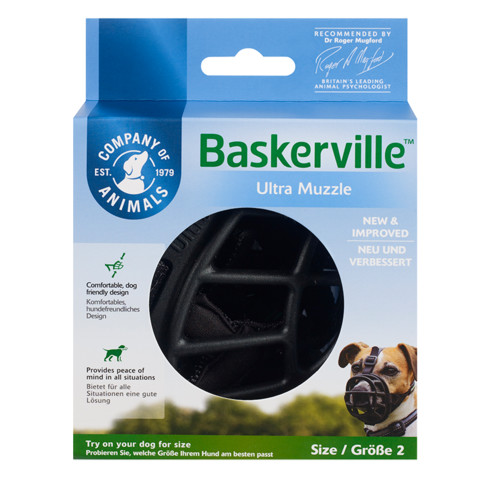 The Company Of Animals Baskerville Ultra Dog Muzzle Size 2