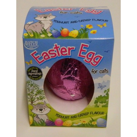 Hatchwells Cat Easter Egg 40g
