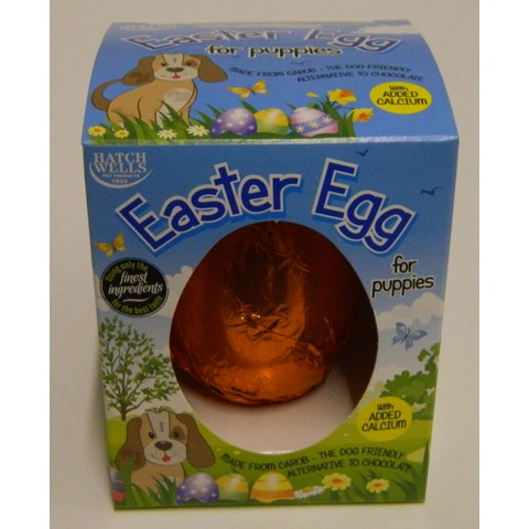 Hatchwells Puppy Easter Egg 40g