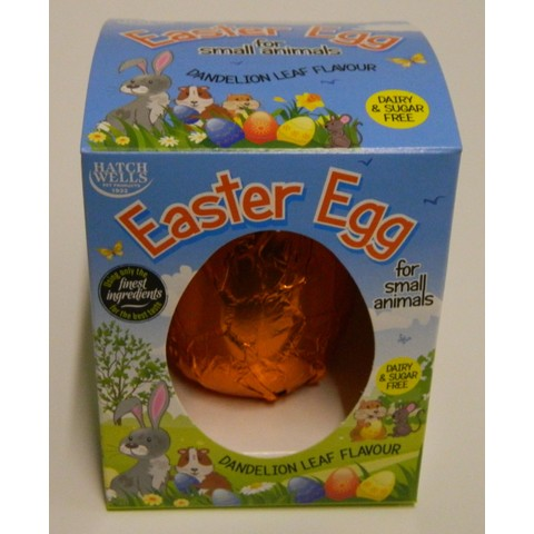 Hatchwells Small Animal Easter Egg 40g