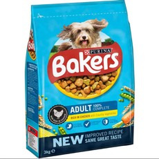 Bakers Adult Dog Food With Chicken And Vegetables 3kg