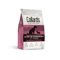 Collards Hypoallergenic Older Or Overweight Salmon And Potato Dog Food 2kg