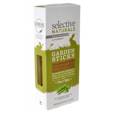 Selective Naturals Rabbit Garden Sticks