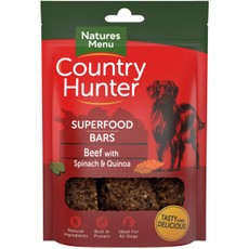 Natures Menu Superfood Bar Beef With Spinach & Quinoa 100g