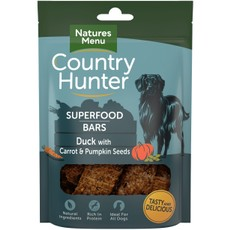 Natures Menu Superfood Bar Duck With Carrot & Pumpkin Seeds 100g