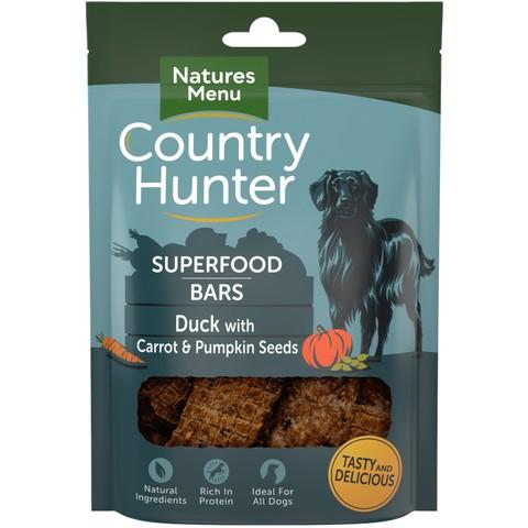 Natures Menu Superfood Bar Duck With Carrot & Pumpkin Seeds 100g
