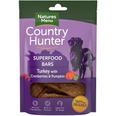 Natures Menu Superfood Bar Turkey With Cranberries & Pumpkin 100g