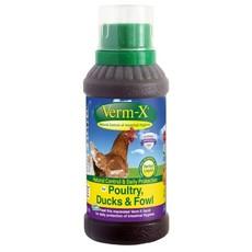 Verm X Natural Parasite Control Liquid For Poultry 250ml