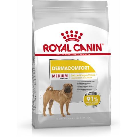 Royal Canin Medium Dermacomfort Adult Dog Food 3kg To 10kg
