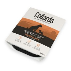 Collards Adult Turkey Rice & Veg 7 X 400g