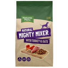 Natures Menu Complementary Mighty Mixer With Turkey & Oats 2kg
