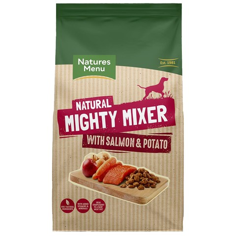 Natures Menu Complementary Mighty Mixer With Salmon & Potato 2kg