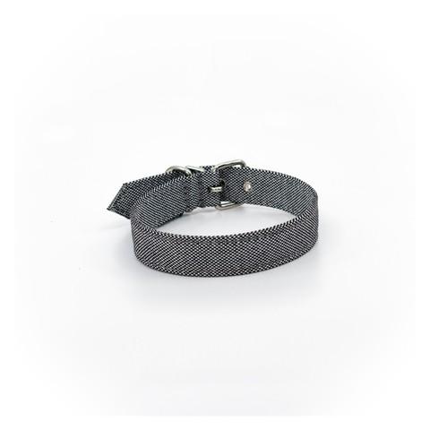 Project Blu Adriatic Dog Collar - Grey M