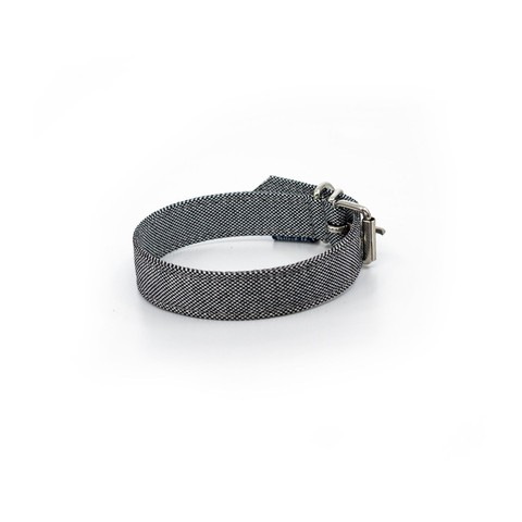 Project Blu Adriatic Dog Collar - Grey Xs