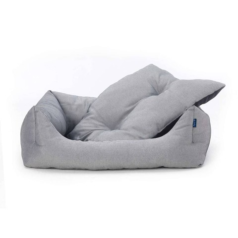 Adriatic Domino Bed Grey L
