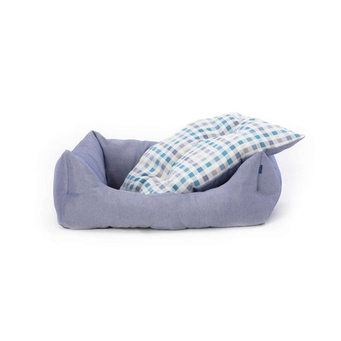 Bengal Domino Bed Blue Xs