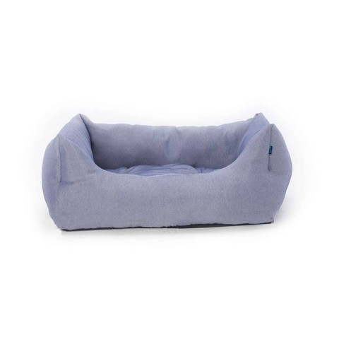 Beta Domino Bed Blue With Pattern Medium