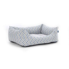 Danube Domino Bed Blue Chevron M
