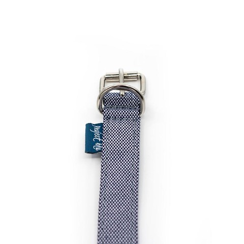 Project Blu Bengal Dog Collar - Marine Blue Xl