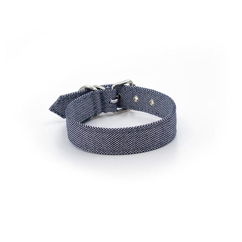Bengal Dog Collar - Marine Blue L