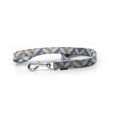 Danube Dog Leash - Blue Chevron