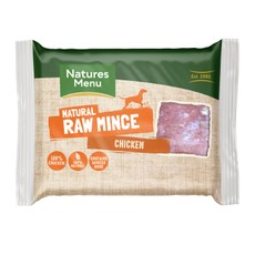 Natures Menu Minced Frozen Dog Food With Chicken 12 X 400g
