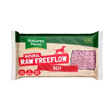Natures Menu Free Flow Frozen Dog Food With Beef 2kg