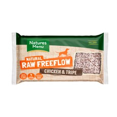 Natures Menu Free Flow Frozen Dog Food With Chicken And Tripe 2kg