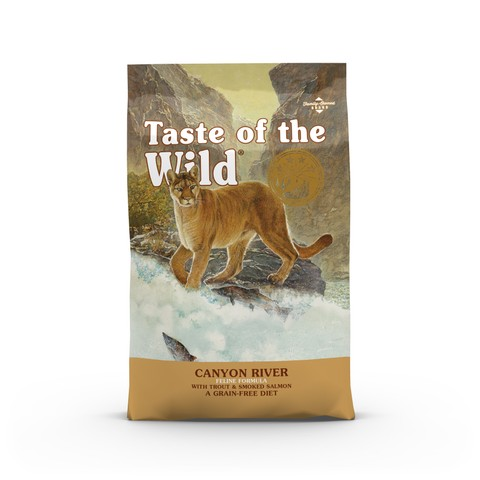 Taste Of The Wild Canyon River Grain Free All Life Stage Cat Food 6.6kg