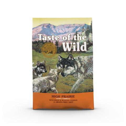 Taste Of The Wild High Prairie Grain Free All Breeds Puppy Food 12.2kg