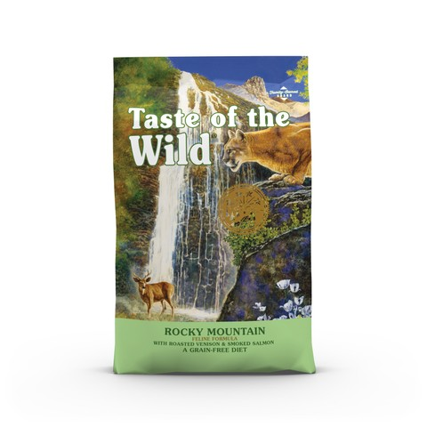 Taste Of The Wild Rocky Mountain Grain Free All Life Stage Cat Food 6.6kg