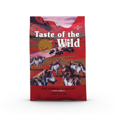 Taste Of The Wild Southwest Canyon Grain Free All Breeds & Life Stage Dog Food 12.2kg