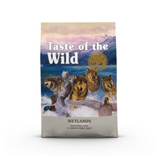 Taste Of The Wild Wetlands Canine Formula Grain Free Dog Food 5.6kg