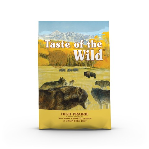 Taste Of The Wild High Prairie Grain Free All Breeds Dog Food 2kg