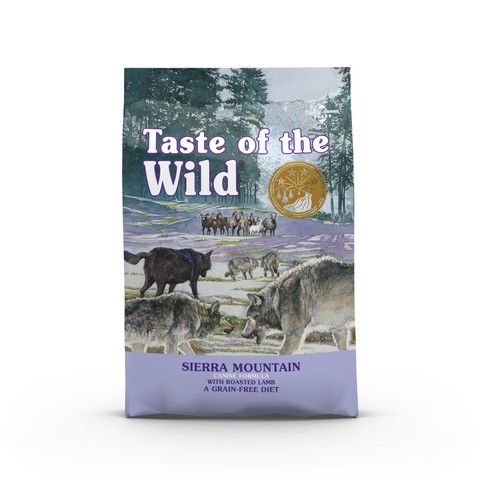 Taste Of The Wild Sierra Mountain Grain Free All Breeds & Life Stage Dog Food 2kg