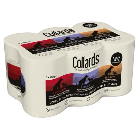 Collards Grain Free Variety Cans 6 X 390g