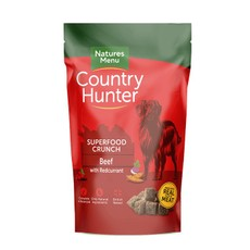 Natures Menu Country Hunter Superfood Crunch Beef With Redcurrants 1.2kg