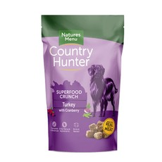 Natures Menu Country Hunter Superfood Crunch Turkey & Goose With Cranberry 1.2kg