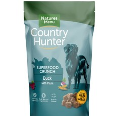 Natures Menu Country Hunter Superfood Crunch Duck With Plum 1.2kg