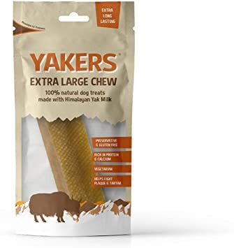 Yakers Dog Chews Extra Large Pre-pack