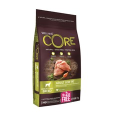 Wellness Core Healthy Weight Turkey Grain Free Adult Dry Dog Food 10kg +2kg Free