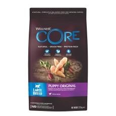 Wellness Core Large Breed Puppy Chicken Grain Free Dry Dog Food 2.75kg