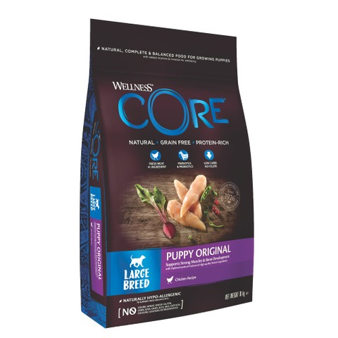 Wellness Core Large Breed Puppy Chicken Grain Free Dry Dog Food 10kg