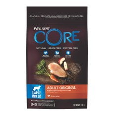 Wellness Core Large Breed Chicken Grain Free Dry Adult Dog Food 10kg