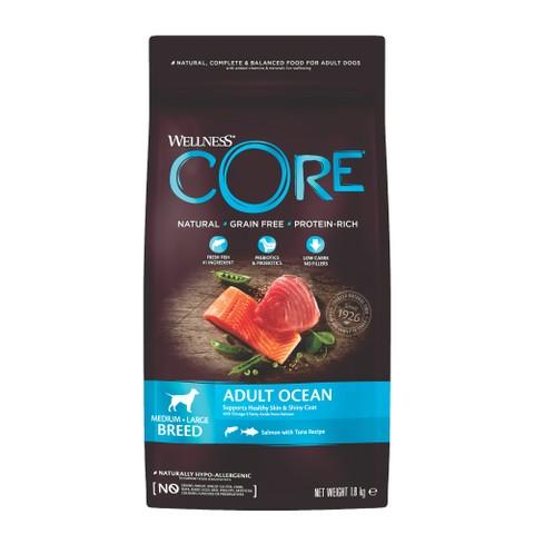 Wellness Core Ocean Fish Salmon And Tuna Grain Free Adult Dry Dog Food 1.8kg