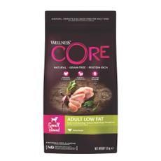 Wellness Core Small Breed Low Fat Turkey Grain Free Adult Dry Dog Food 1.5kg