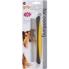 (d) Jw Gripsoft Rotating Comfort Comb Fine/coarse 20cm