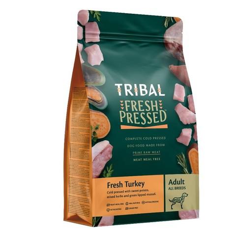 Tribal Tlc Grain Free Cold Pressed Turkey Adult Dog Food 12kg