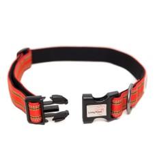 Long Paws Comfort Collection Collar Medium Orange